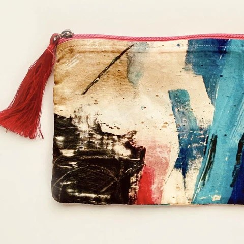 Wildscape Pouch by Rubykite. NHS, Lock-down, Coronavirus