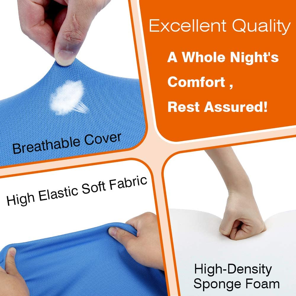neppt wedge pillows for sleeping bed
