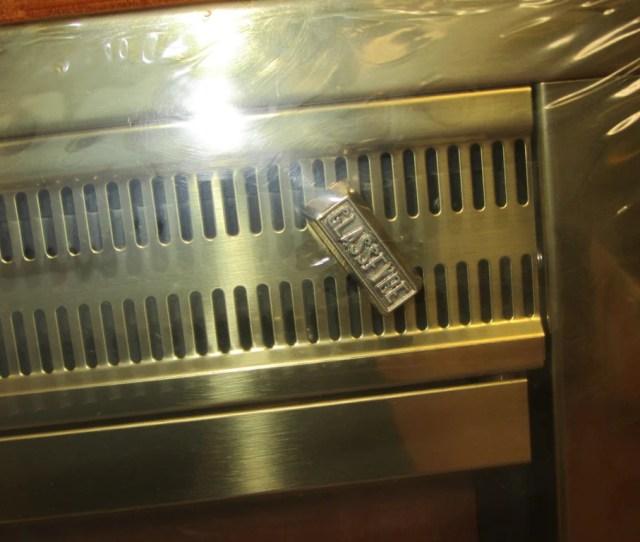 Portland Willamette Glassfyre Bi Fold Polished Brass Fireplace Door