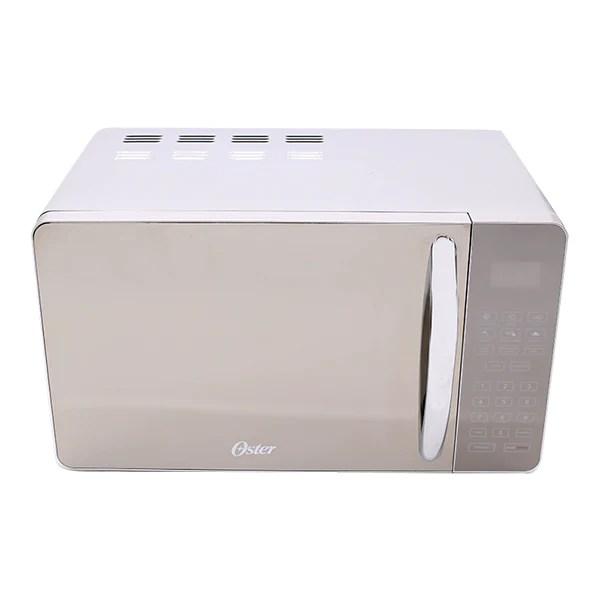 oster 700 watt microwave silver