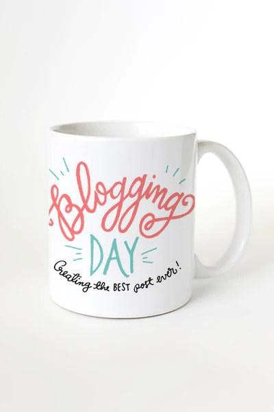 Blogging Day Mug
