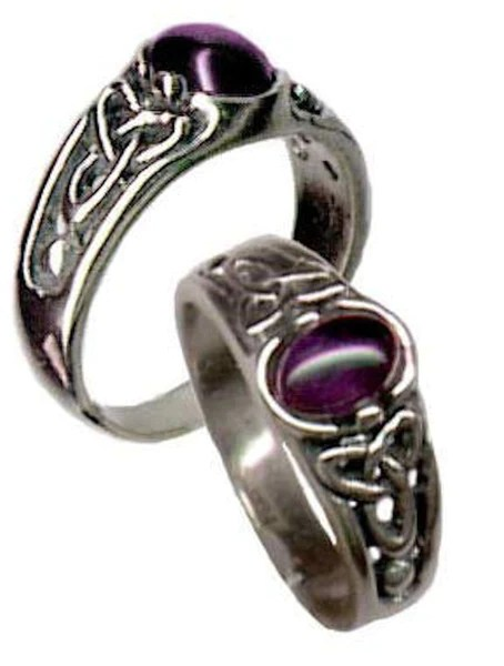 CELTIC Triquetra Ring In 925 Sterling Silver Triskele