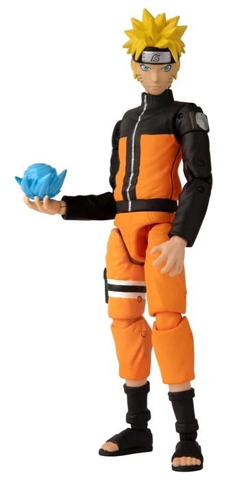 Bandai Anime Heroes Naruto Shippuden Naruto Action Figure