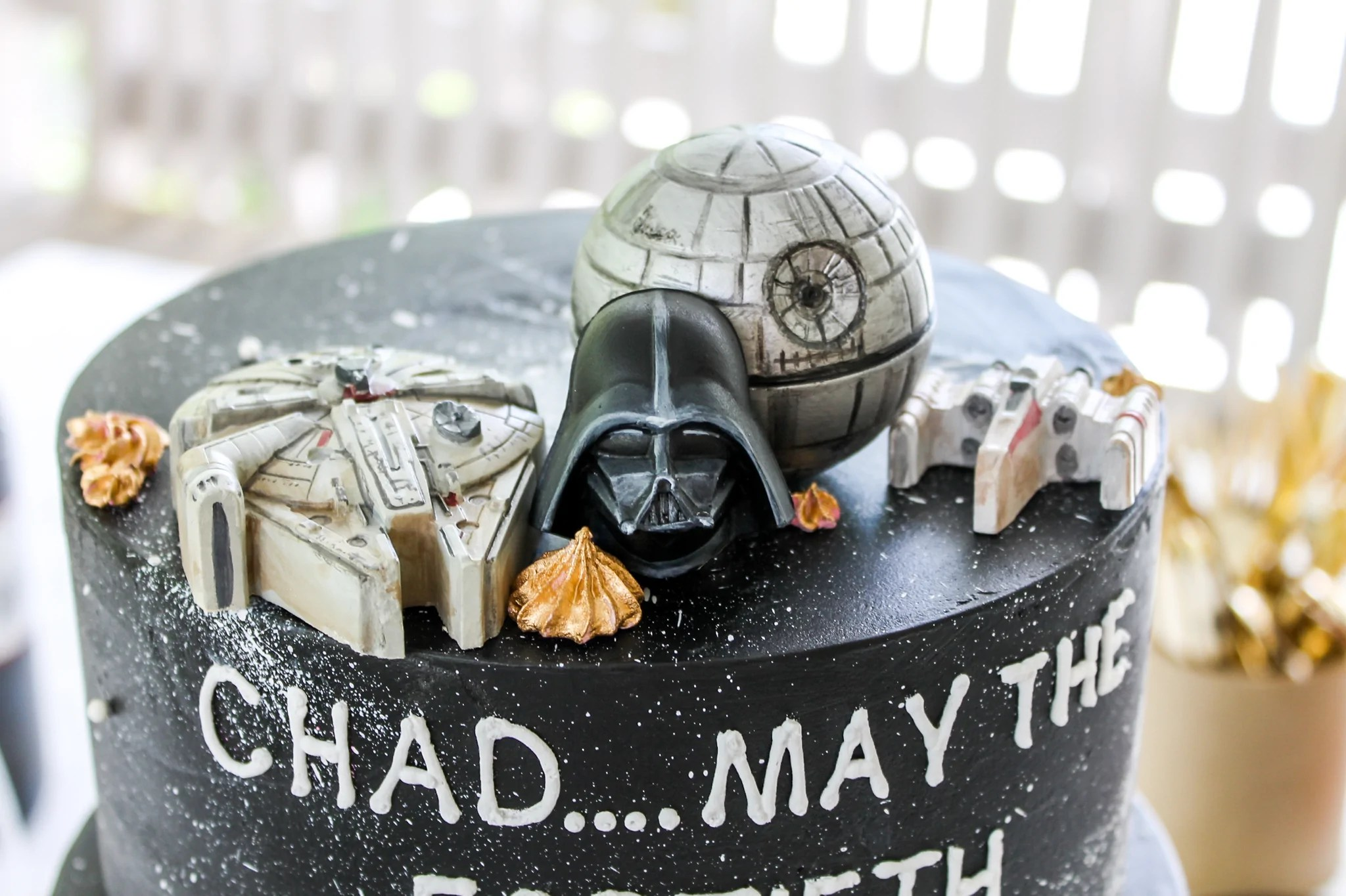 Star Wars Cake Toppers Confection Deception
