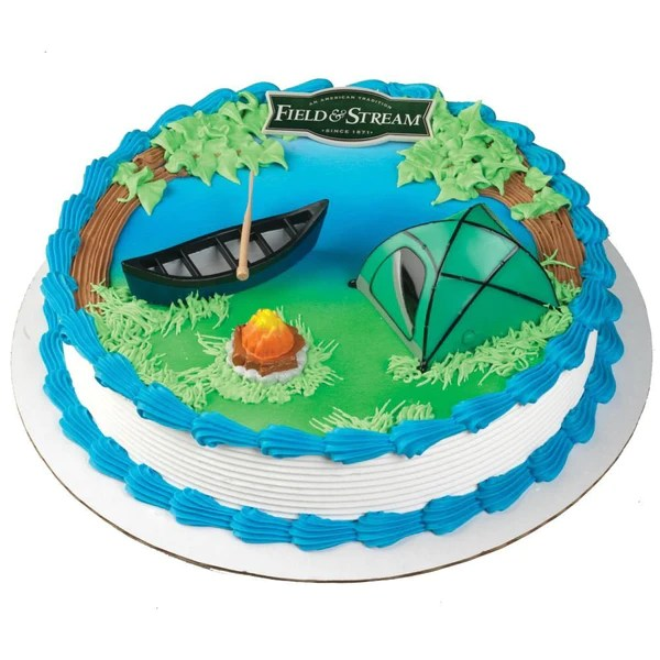 Field Amp Stream Camping Cake Kit Christy Maries