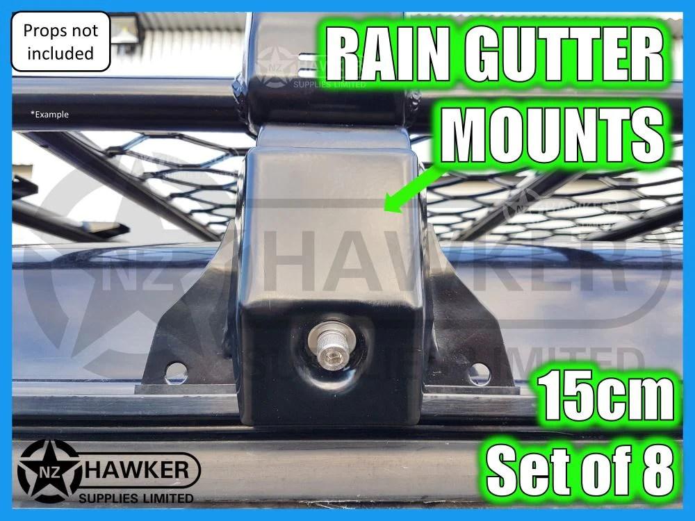 universal rain gutter 15cm set of 8 01