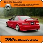 Mr Pp Plastic Type R Rear Lip Suit Honda Civic Ek Series 1999 2000 Sed Mr Bodykits