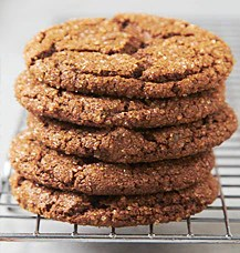 Gluten Free Ginger Chew Cookie