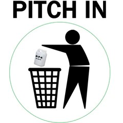 Pitch in and throw away your nutrients!