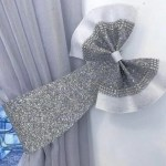 Set Of 2 Glitter Fabric Curtain Tie Backs Dolly Sparkle Glitter Limited