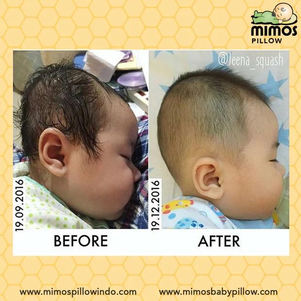 flat head baby pillow mimos
