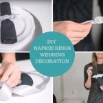 Diy Napkin Ring Wedding Decor Tutorial Totally Dazzled