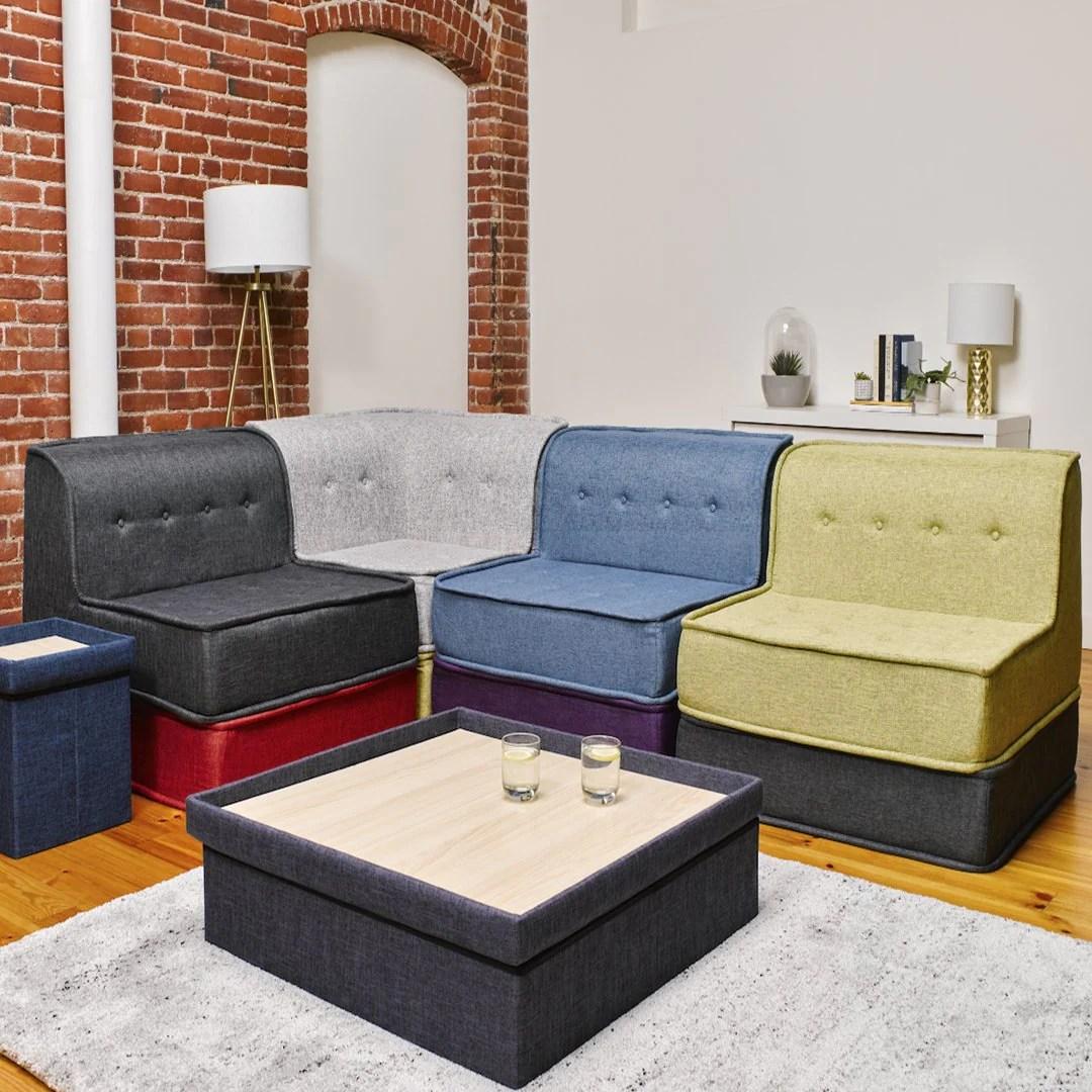 8 piece sectional bundle modju couch
