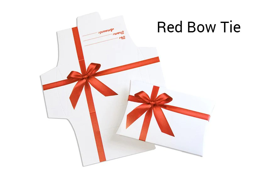 gift card pillow boxes