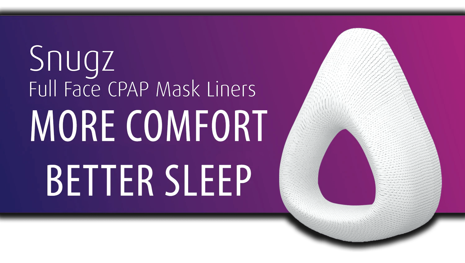 snugz full face cpap mask liners