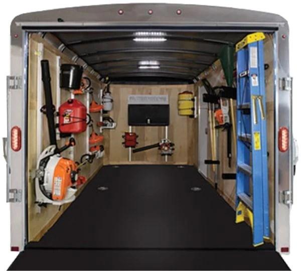enclosed trailer ladder racks igopro