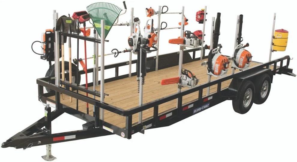trailer racks gridiron equipment