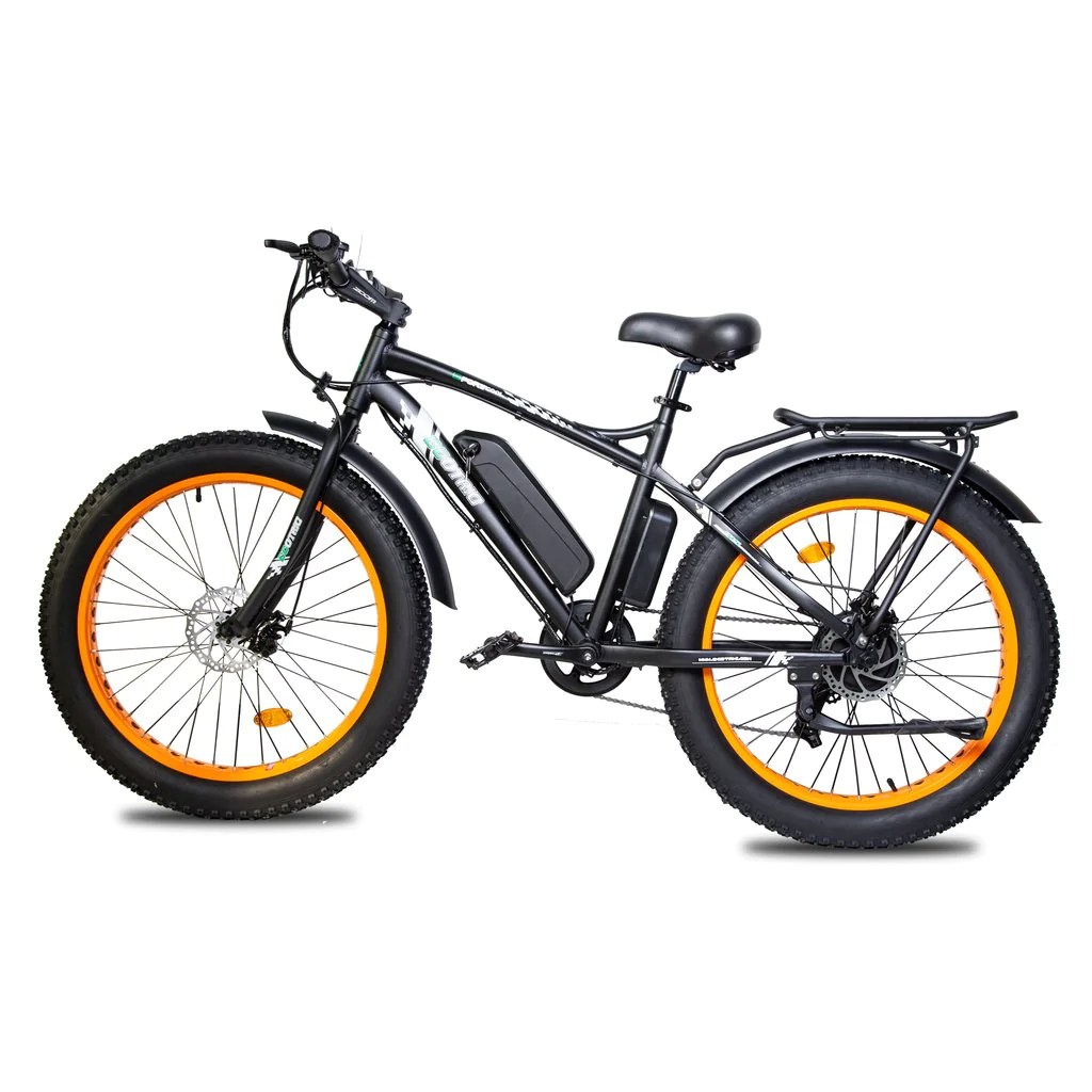 ecotric rear rack and fenders for 26inch fat beach snow electric bike and rocket