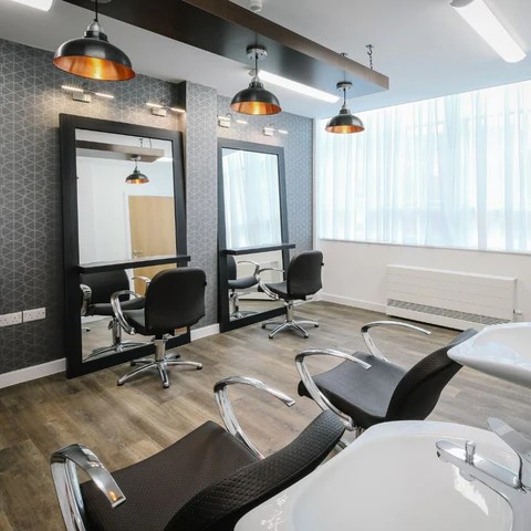 salon lighting and design ideas