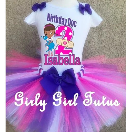 Shop For Girl Tutu Sets Tagged Doc Mcstuffins Birthday Outfit Girly Girl Tutus