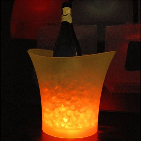 Luxury LED Insulated Champagne Ice Chiller Bucket
