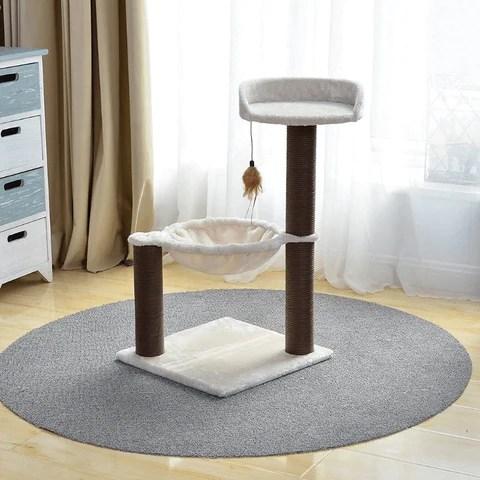 Natural Cat Scratching Lounger Furniture Post