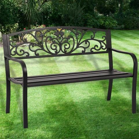 New Patio Park Garden Bench Porch Path Chair