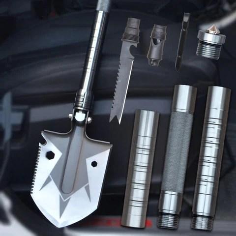 Outdoor Mini Multifunctional Shovel Survival Tactical Garden Tool Kit