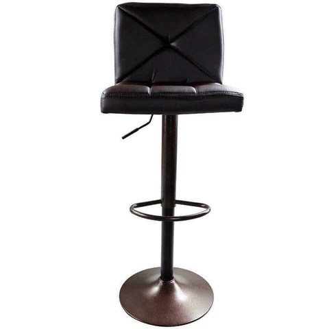 Modern PU Leather Swivel Chair Bar Stool