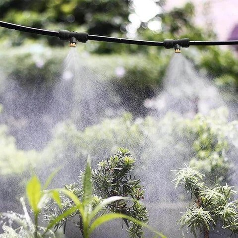 Outdoor Patio Water Misting Hose System