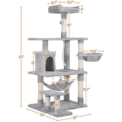Multi-Level Cat Tower Condo