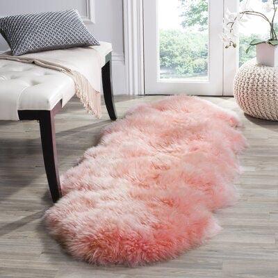 tapis en fourrure 1 70m 80 cm nuage