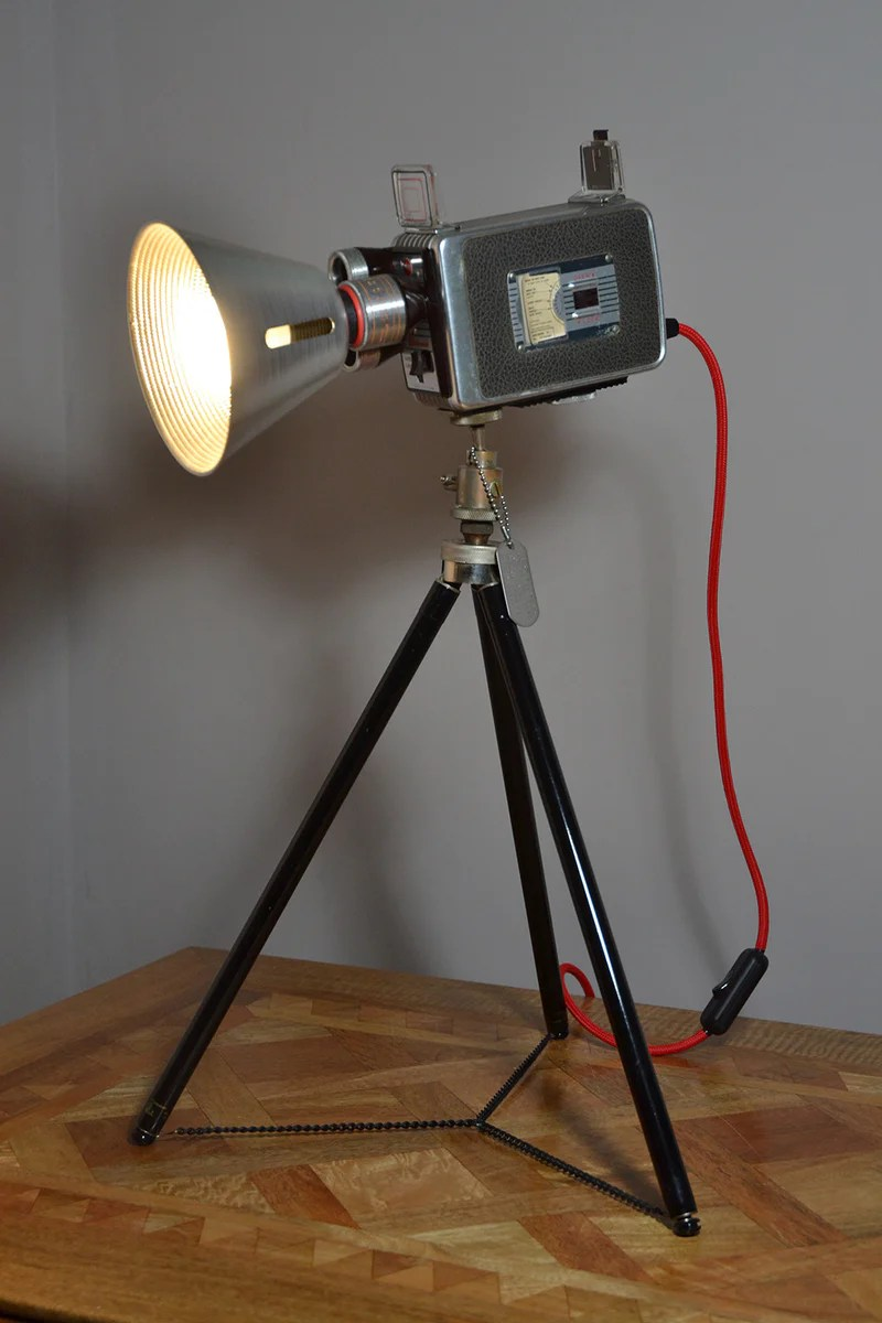 Table Lamp Desk Light Kodak Turret Funky Unusual