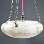 Original Marbled Glass Art Deco Flycatcher Glass Bowl Ceiling Light It S A Light Funky Unusual Lighting