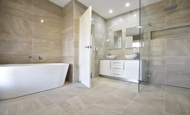 bathroom easy to clean