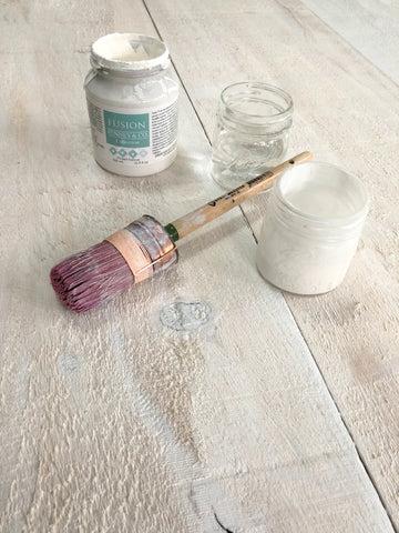 Tuto Realiser Un Effet Bois Blanchi Avec Fusion Mineral Paint Paintshop