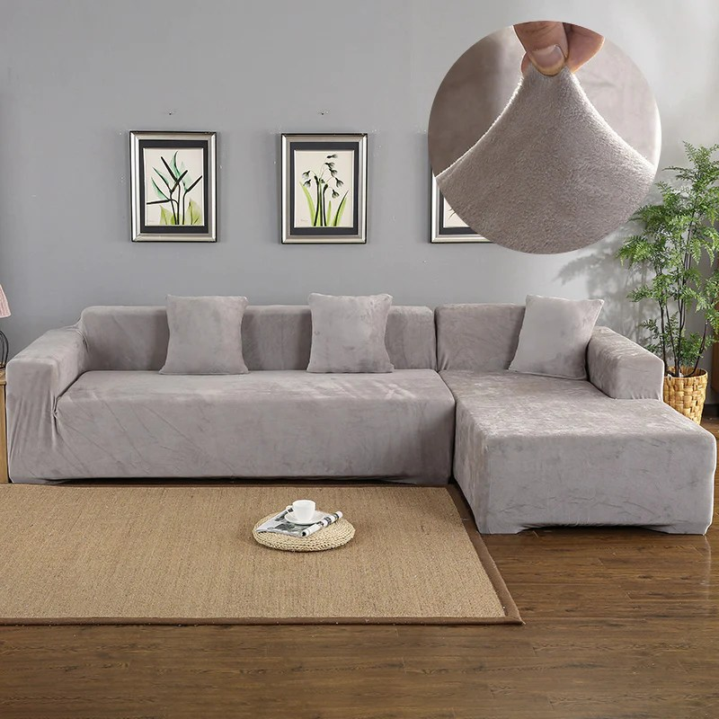 magic sofa stretchable cover l shape