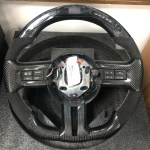 Forged Carbon Fiber Steering Wheel 2015 2020 Carbonbargain