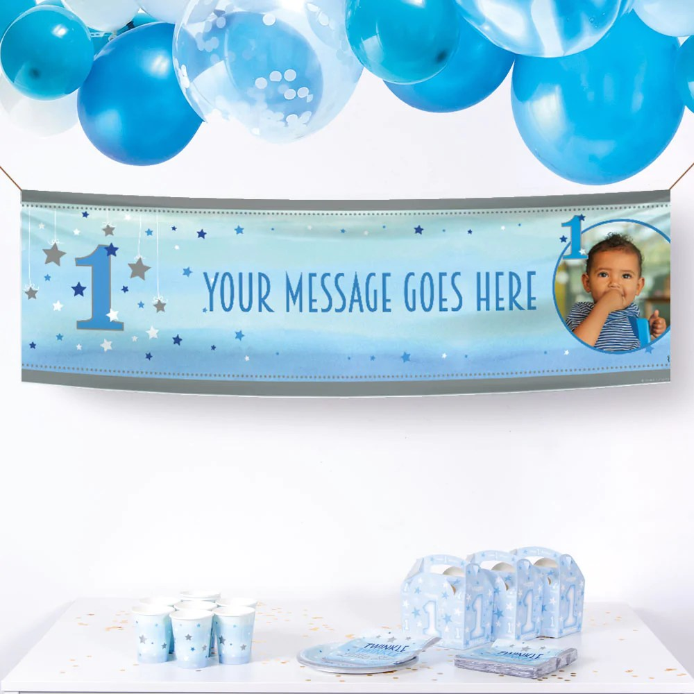 Party Banners Personalised Photo Banners Party Pieces