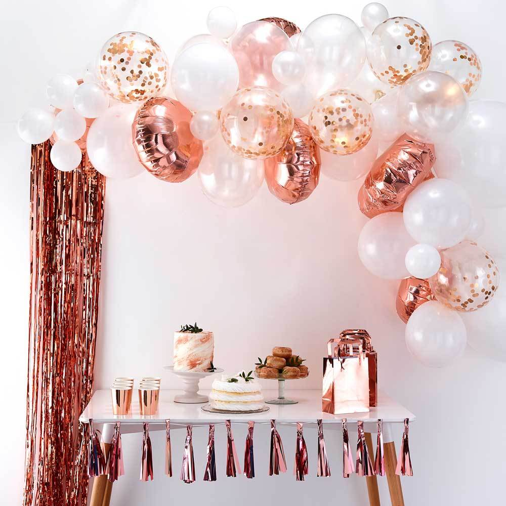 Balloon Arch Rose Gold Balloon Arch Kit Party Decorations Party Pieces