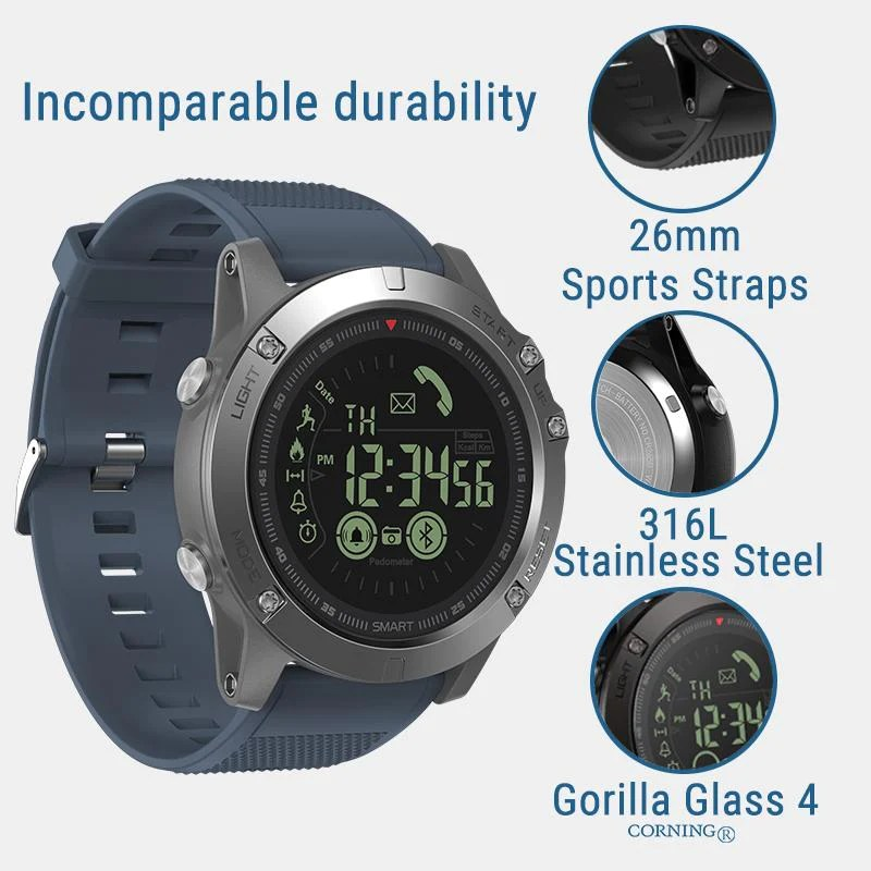 Extreme Rugged Tactical Military Smartwatch All About Dads