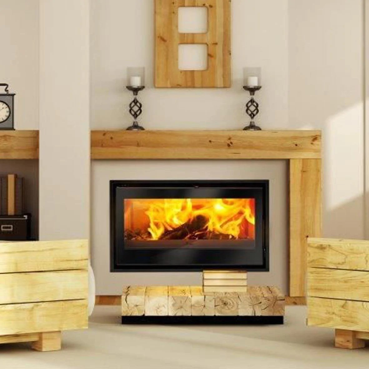 Lacunza Aroa 700 Built In Fireplace 10 13kw Multifire Fireplace Specialists
