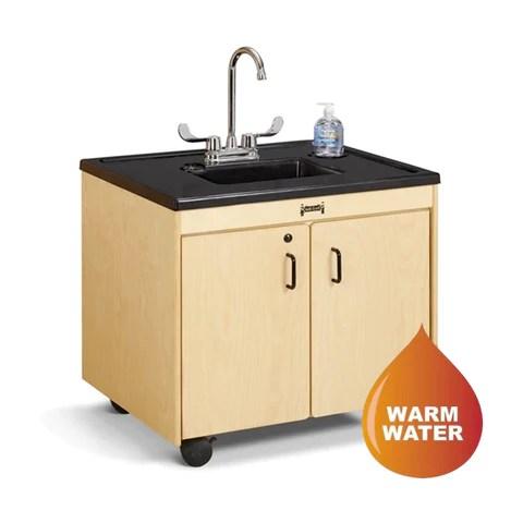 jonti craft 1370jc 26 child height portable sink plastic sink basin