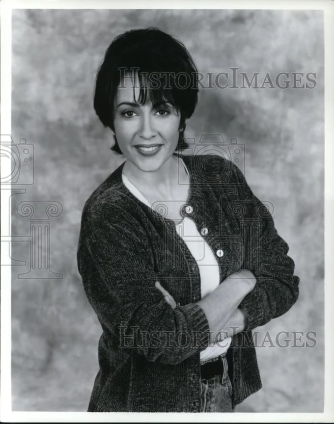 1996 press photo patricia heaton in everybody loves raymond - cvp43945