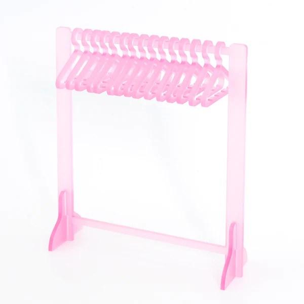 clothing rack earring hanger jelly pink