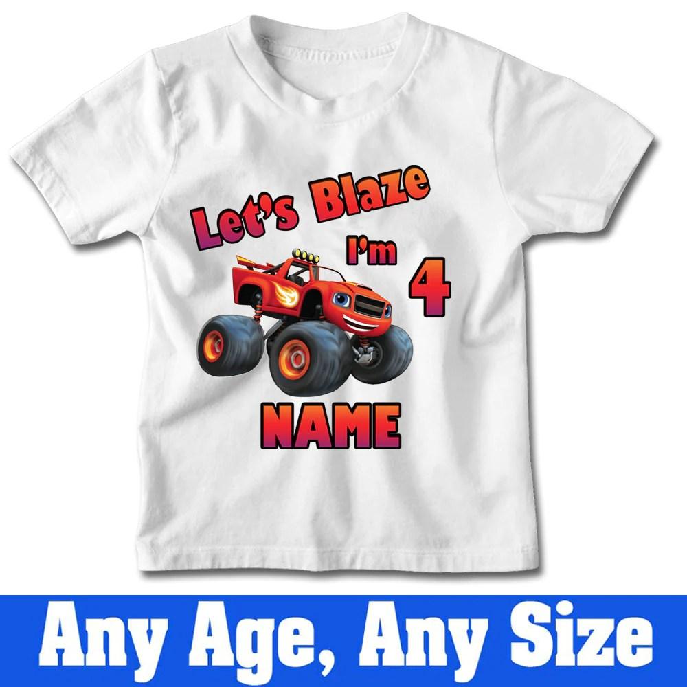 Blaze Birthday Shirt