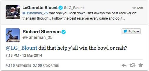 NFL social media