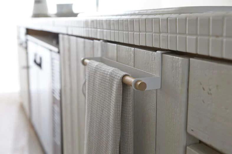 kitchen towel hanger wide