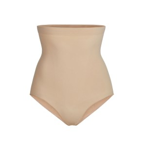 SKIMS Women's Sculpting High Waist Brief Shapewear - Nude - Size 4XL/5XL