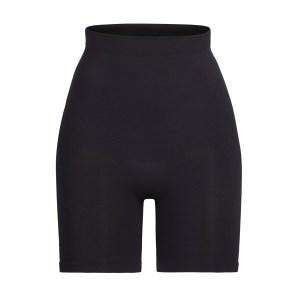 SKIMS Sculpting Short Mid Thigh Shapewear - Black - Size 4XL/5XL